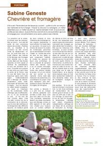 Un bel article qui explique bien les différentes facettes du métier d'éleveur de chèvres !!